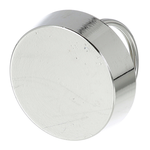 11-349 - 1 1/2in Drain Stopper Chg, Nickel Plated Brass