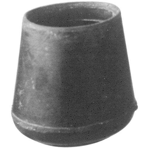 "121-1142 - TIP,CRUTCH, F/ 1-1/4""TUBE,BLK"