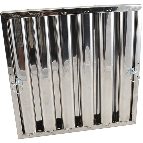 "129-2154 - FILTER,GREASE -, 20"" X 20"", S/S"