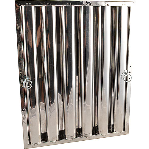 """129-2155 - FILTER,GREASE - , 25"""" X 20"""", S/S"""