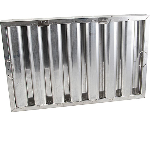 "129-2204 - FILTER,GREASE -   16"" X 25"",ALUMINUM, HR"