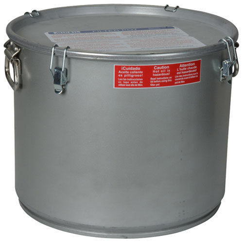 MIROIL - 40L - POT,OIL FILTER35 LBS, W/ LID