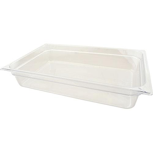 """CARLISLE - 10201B07 - PAN,FOOD (FULL, 4""""D, CLEAR)"""