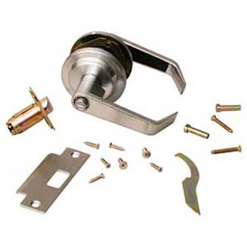 134-1131 - LOCKSET, LEVER HANDLE,PRIVACY