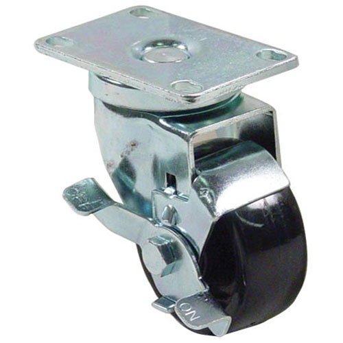 13-5101 - CASTER W/BRK PLATE 3""