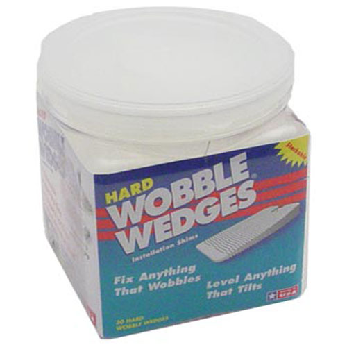 13-6355 - WOBBLE WEDGES 30-WEDGE JAR CLR