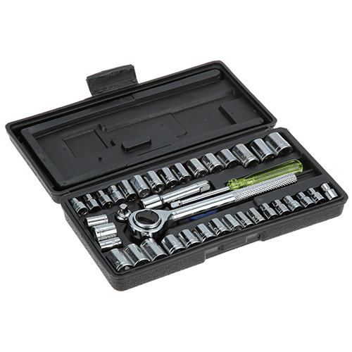 13-6556 - SOCKET SET - 40 PIECE