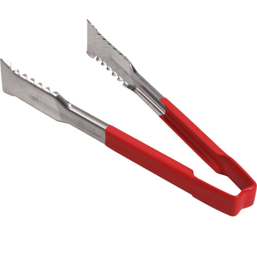 "137-1214 - TONGS,VERSAGRIP, 9.5"",RED HDL"