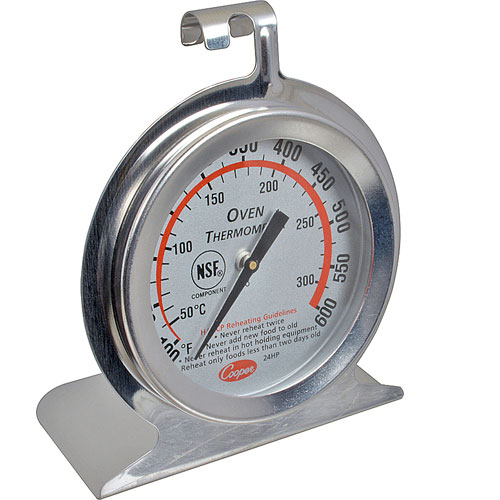 138-1296 - THERMOMETER, OVEN, 100-600°F