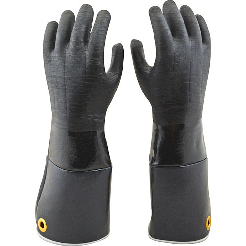 "150-6121 - RUBBER GLOVE - 17""PAIR"