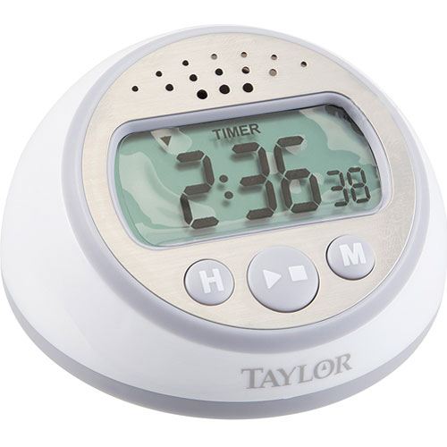 TAYLOR PRECISION - 5873 - TIMER,DIGITAL W/ CLOCK