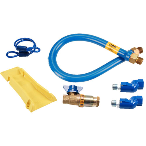 "DORMONT - 16100KITCF2S48PS - KIT,GAS HOSE, 1""X48"",W/SFTY SET"
