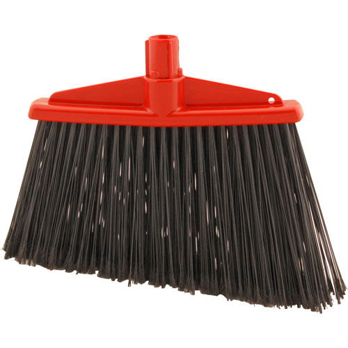 159-1109 - BROOM HEAD, ANGLE, RED/BLACK
