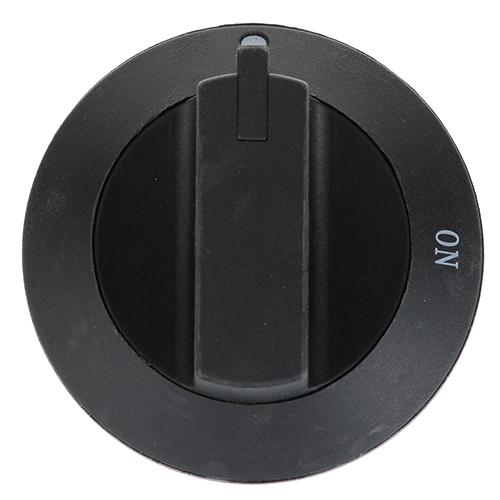 "STAR MFG - WS-507160 - KNOB,VALVE, 3"" OD, BLACK"