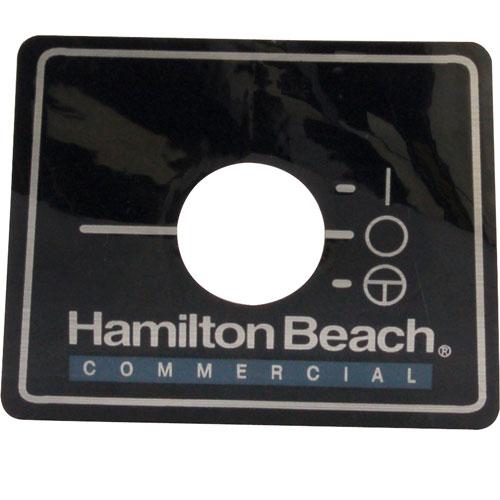HAMILTON BEACH - 230047900 - NAMEPLATE (BLENDER)