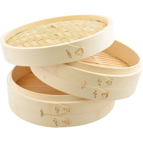 """TOWN FOOD SERVICE - 34210 - STEAMER BAMBOO  10"""" DIA"""