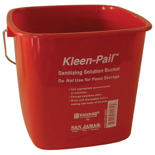 18-3215 - PAIL RED 6QT