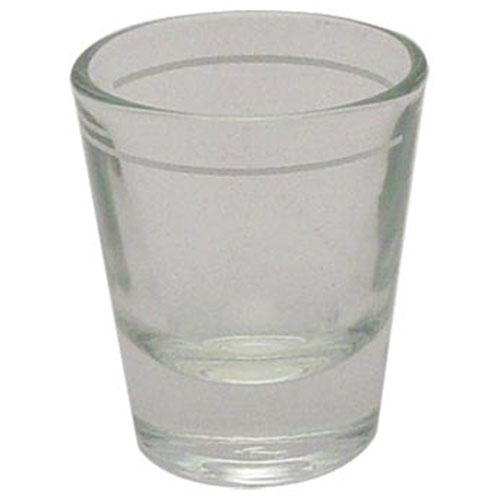 18-6255 - SHOT GLASS MARKED 1.5OZ