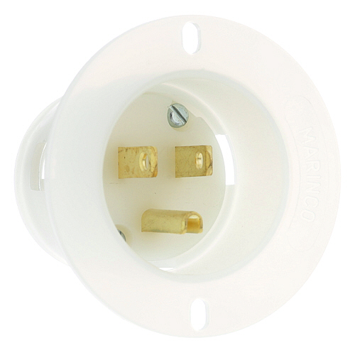 196-1079 - RECEPTACLE POWER INLET, 120V