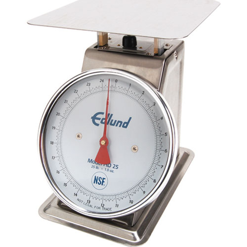 EDLUND - 48400 - SCALE,MECHANICAL, HD-25,SS