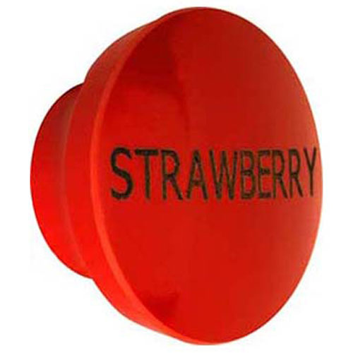SERVER PRODUCTS - 82023-1ST - KNOB,DISPENSER, STRAWBERRY