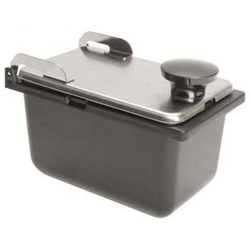 "SERVER PRODUCTS - 87228 - JAR & LID ASSY, 1/9 SZ,3.5""D"