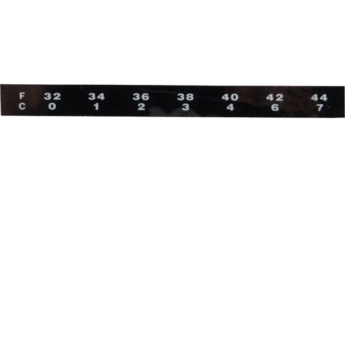 SERVER PRODUCTS - 86873 - THERMOMETER,STRIP, 32F TO 44F