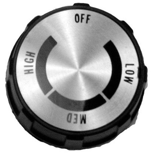 STAR MFG - Y9-70701-10 - KNOB 2 D, OFF-LOW-MED-HIGH