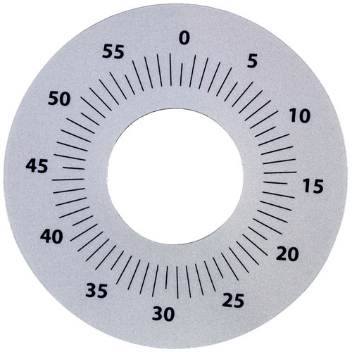 CLEVELAND - 04121 - DIAL PLATE 3 D, 0-55
