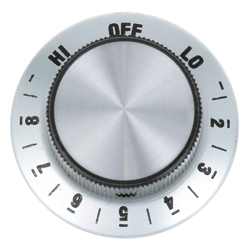 STAR MFG - 2R-200702 - INFINITE DIAL 1-7/8 D, OFF-LO-2-8-HI