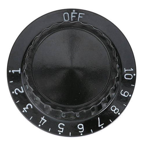 CRES COR - 0595-002 - KNOB 2 D, OFF-10-1