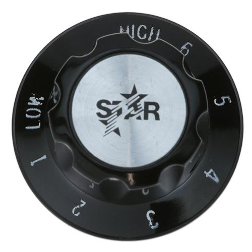 STAR MFG - 2R-Y6353 - KNOB 2 D, HI-6-1-LO