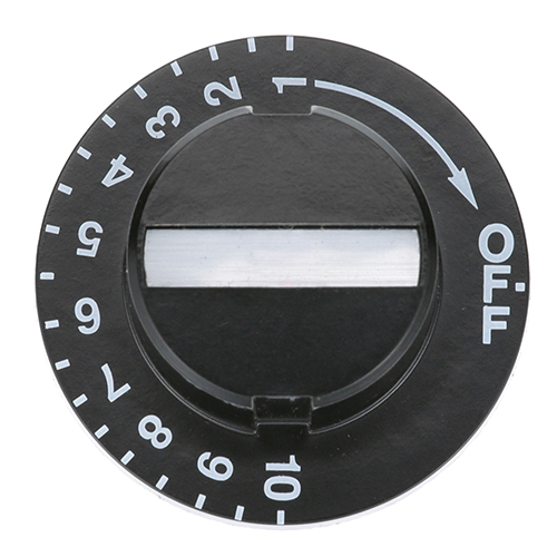 INTER METRO - RPC06-313 - KNOB 2 D, OFF-10-1