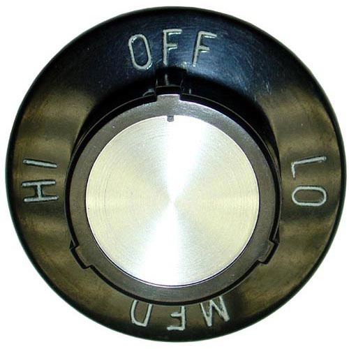 STAR MFG - 2R-9305 - KNOB 2-1/2 D, OFF-LO-MED-HI