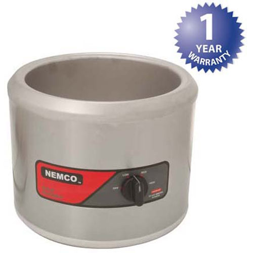 NEMCO - 6101A - WARMER, ROUND, 11QT, 120V 750W