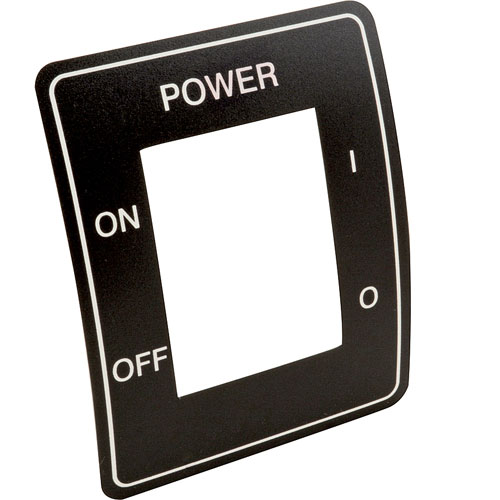 HENNY PENNY - 60608 - DECAL MAIN POWER SWITCH OFE-OF