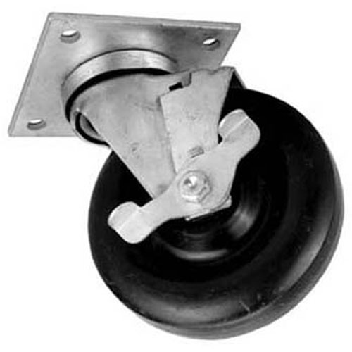 "234-1031 - CASTER,SWIVEL, 5""DIA,3X3""CTRS"