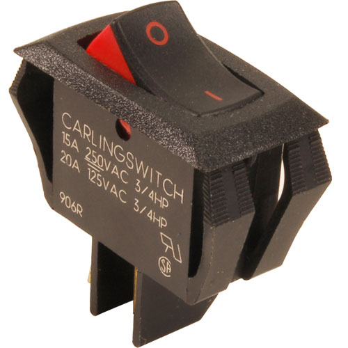 235-1101 - SWITCH,ROCKER (SPST)