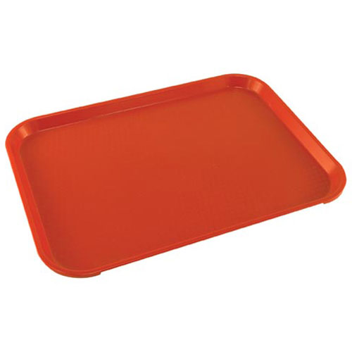 "247-1051 - TRAY, FOOD, 12"" X 16"", RED"