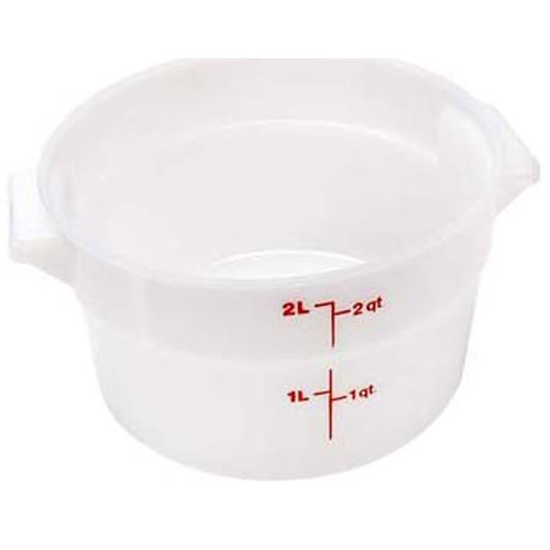 "CAMBRO - RFS2148 - CONTAINER 8-3/16""RD,2 QT,WHT"