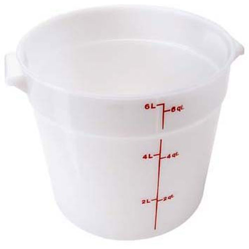 "CAMBRO - RFS6148 - CONTAINER 10""RD, 6 QT, W HT"