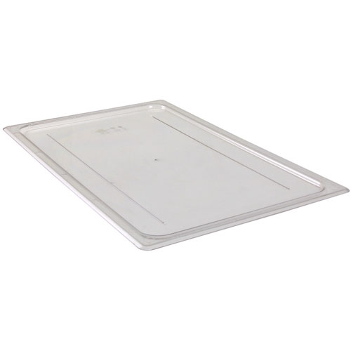 247-1224 - LID,FLAT, FULL FOOD PAN,CLEAR