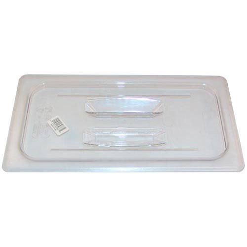 247-1295 - CLEAR LID W/O NOTCH  1/3 SIZE
