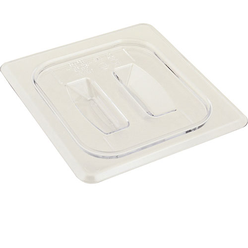 247-1299 - CLEAR LID NO NOTCH  1/6 SIZE