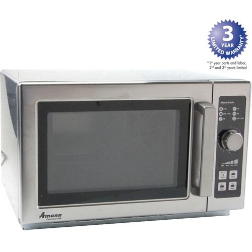 AMANA - RCS10DSE - MICROWAVE, RCS10DSE,1000W,DIAL