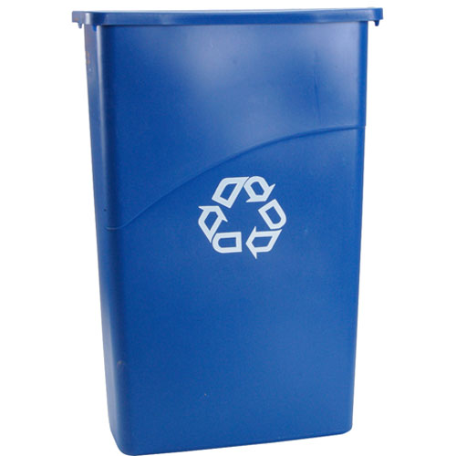 262-1156 - CONTAINER,WASTE, 23 GAL,SLIM