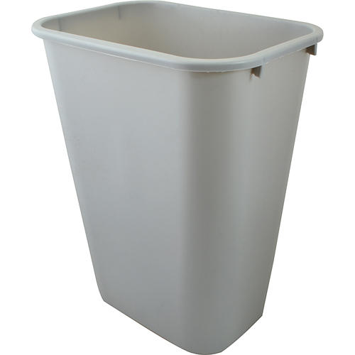 262-1163 - CAN, TRASH, 10.25GAL, GRAY