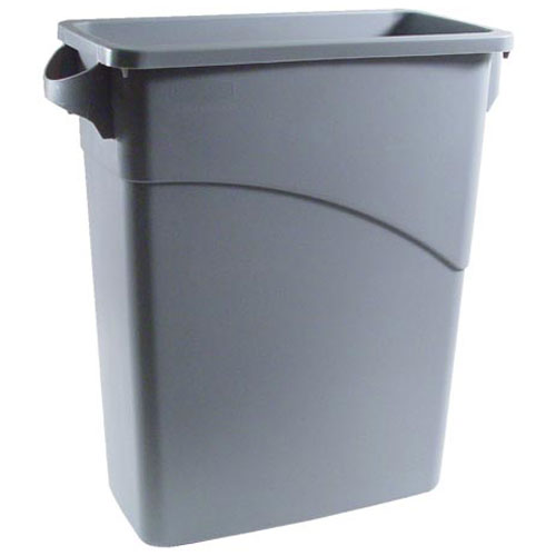 262-1199 - TRASH CONTAINER-SLIM JIM, GREY 15.5G