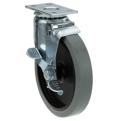 26-2367 - PLATE MNT CASTER W/BRK 5 W 1-3/4 X 3