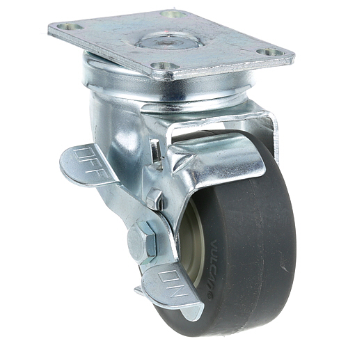 26-2373 - PLATE MNT CASTER W/BRK 3 W 2-3/8 X 3-5/8